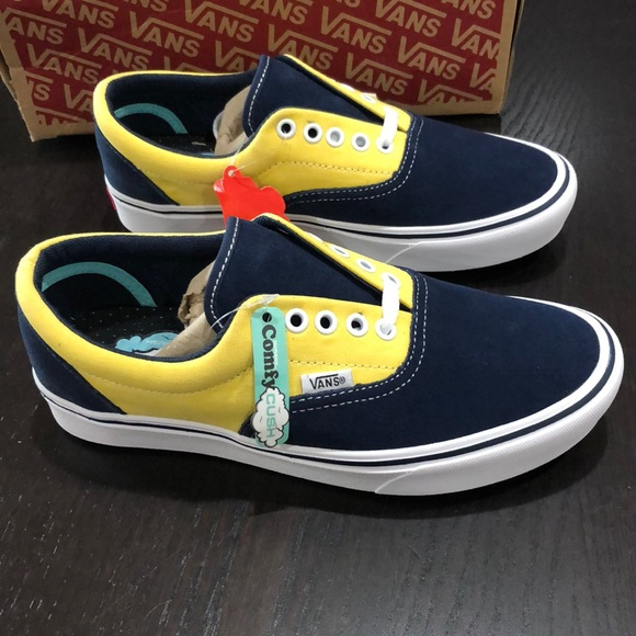Nwt Vans Suede Era Blue Dress Comfycush Canvas nwkP80O